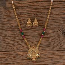 206333 Antique Temple Necklace With Gold Plating