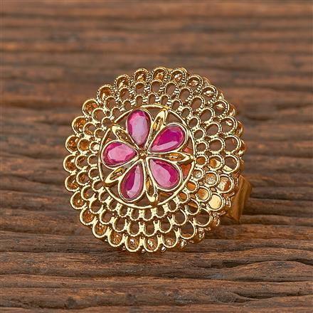 206378 Antique Classic Ring With Gold Plating
