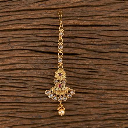 206442 Antique Classic Tikka With Matte Gold Plating