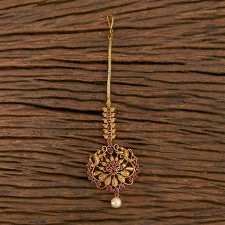 206457 Antique Classic Tikka With Matte Gold Plating