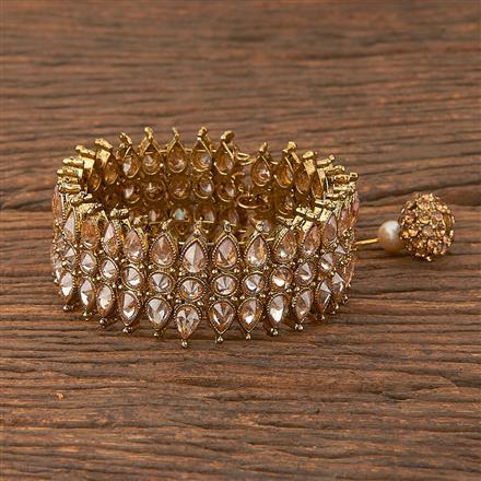 206580 Antique Adjustable Bracelet With Mehndi Plating