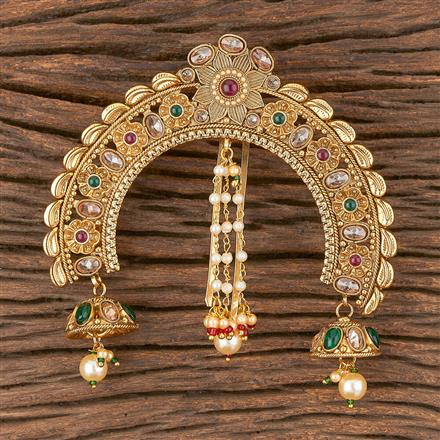 206608 Antique Classic Hair Clips With Gold Plating