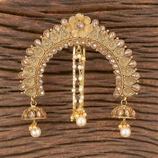 206612 Antique Classic Hair Clips With Gold Plating