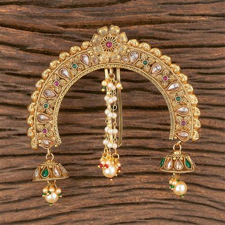 206614 Antique Classic Hair Clips With Gold Plating
