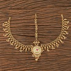 206668 Antique Classic Damini With Gold Plating