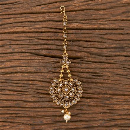 206685 Antique Chand Tikka With Gold Plating