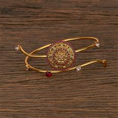 207027 Antique Classic Baju Band With Gold Plating