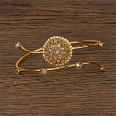 207028 Antique Classic Baju Band With Gold Plating