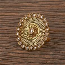 207048 Antique Classic Ring With Gold Plating