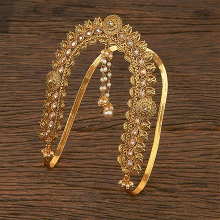 207055 Antique Classic Baju Band With Gold Plating