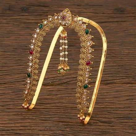 207056 Antique Classic Baju Band With Gold Plating