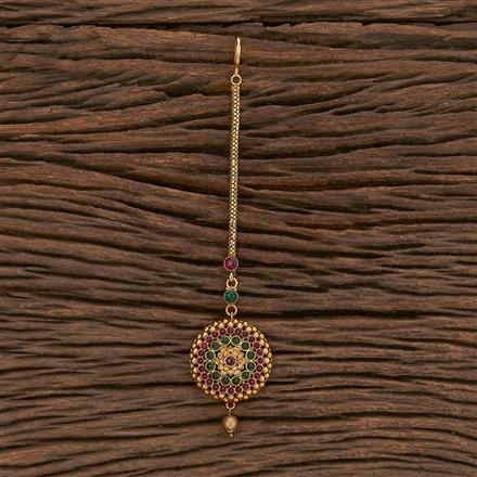 207066 Antique Classic Tikka With Matte Gold Plating