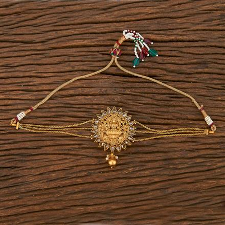 207113 Antique Temple Baju Band With Matte Gold Plating