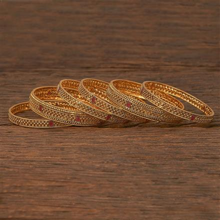 207133 Antique Delicate Bangles With Gold Plating