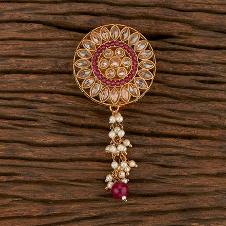 207149 Antique Classic Brooch With Gold Plating