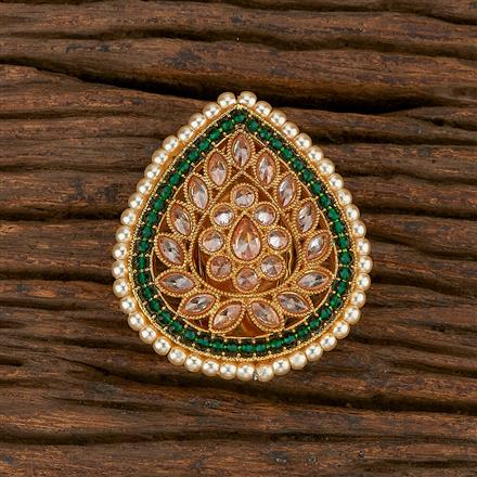 207151 Antique Classic Brooch With Gold Plating
