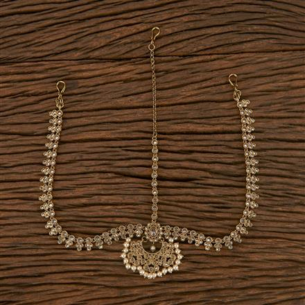 207197 Antique Chand Damini With Mehndi Plating