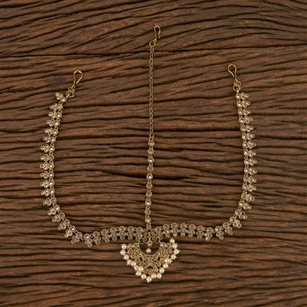 207198 Antique Chand Damini With Mehndi Plating