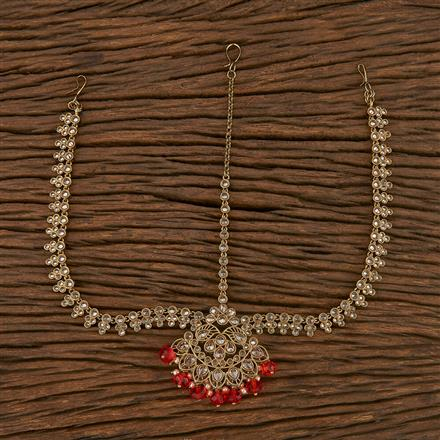 207199 Antique Chand Damini With Mehndi Plating