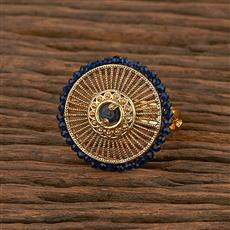 207267 Antique Classic Ring With Gold Plating