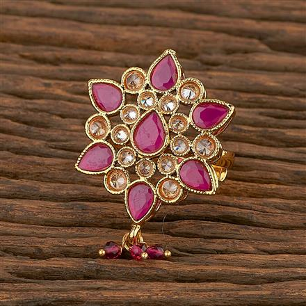 207268 Antique Classic Ring With Gold Plating