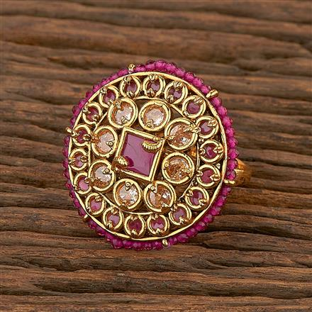 207270 Antique Classic Ring With Gold Plating