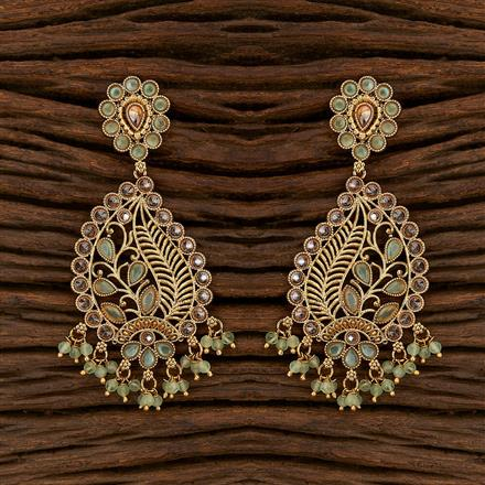207497 Antique Classic Earring With Gold Plating