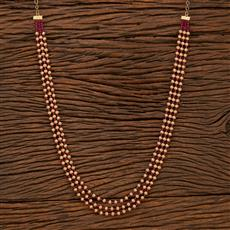 207507 Antique Long Necklace With Gold Plating