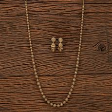 207529 Antique Mala Necklace With Gold Plating
