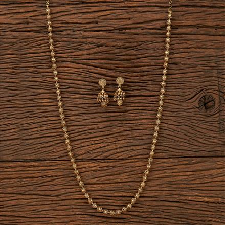 207530 Antique Mala Necklace With Gold Plating