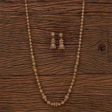 207531 Antique Mala Necklace With Gold Plating