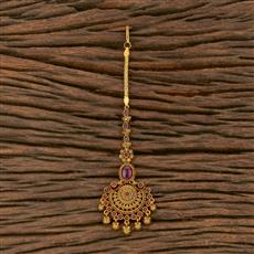 207541 Antique Classic Tikka With Matte Gold Plating