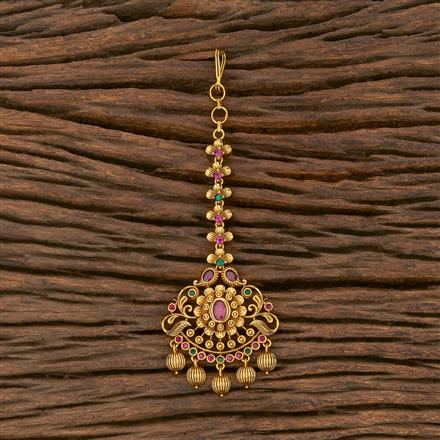 207542 Antique Classic Tikka With Matte Gold Plating