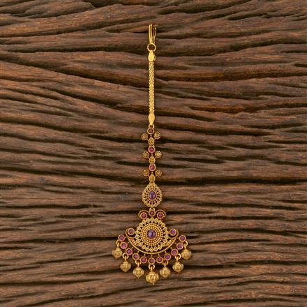 207543 Antique Classic Tikka With Matte Gold Plating