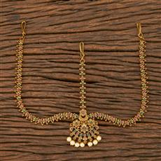 207544 Antique Classic Damini With Matte Gold Plating
