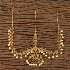207545 Antique Classic Damini With Matte Gold Plating