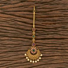 207555 Antique Classic Tikka With Matte Gold Plating