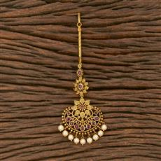 207556 Antique Classic Tikka With Matte Gold Plating