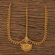 207578 Antique Classic Damini With Matte Gold Plating