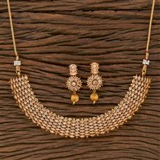 207640 Antique Classic Necklace With Gold Plating