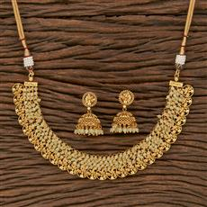 207642 Antique Classic Necklace With Gold Plating