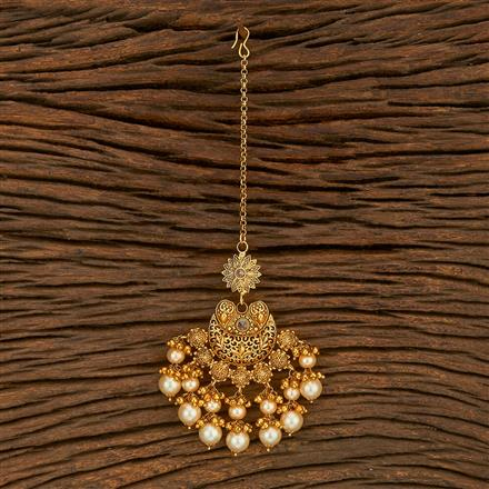 207753 Antique Chand Tikka With Gold Plating