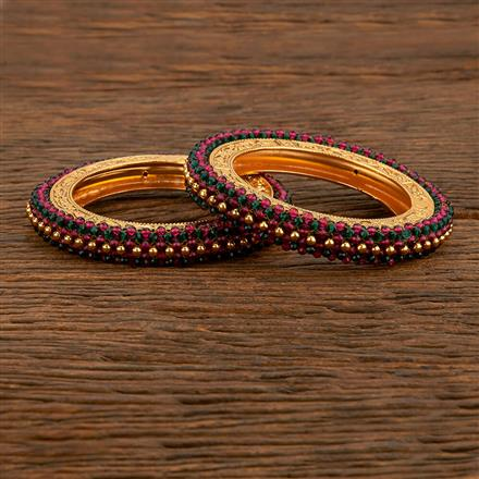 207777 Antique Classic Bangles With Gold Plating