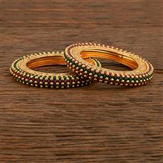 207779 Antique Classic Bangles With Gold Plating