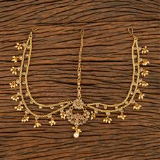 207786 Antique Chand Damini With Gold Plating