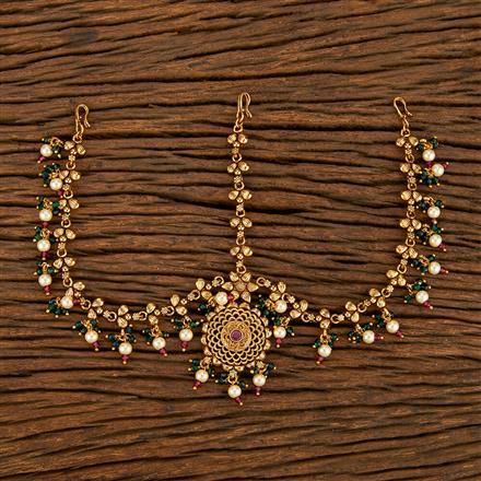 207815 Antique Classic Damini With Gold Plating