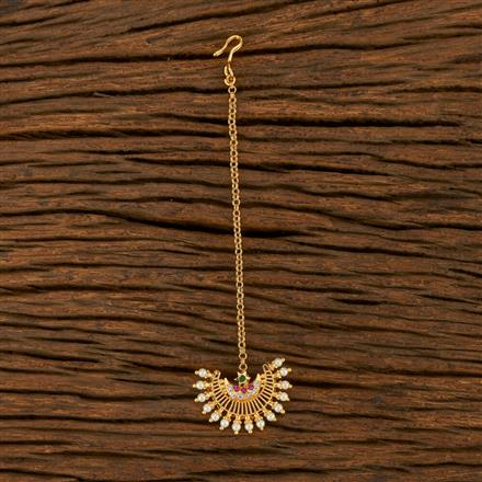 207863 Antique Chand Tikka With Gold Plating