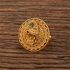 207879 Antique Classic Ring With Gold Plating