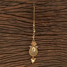207885 Antique Delicate Tikka With Gold Plating