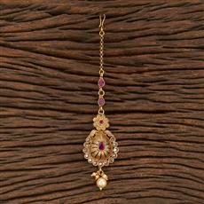 207887 Antique Classic Tikka With Gold Plating